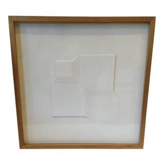Mid Century Modern Architectural Framed Art