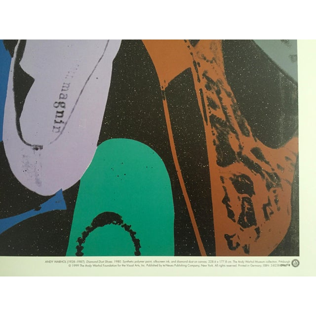 """Andy Warhol """"Diamond Dust Shoes"""" Offset Lithograph - Image 8 of 9"""