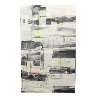 Typo Original Abstract Painting by Isabel Wyatt