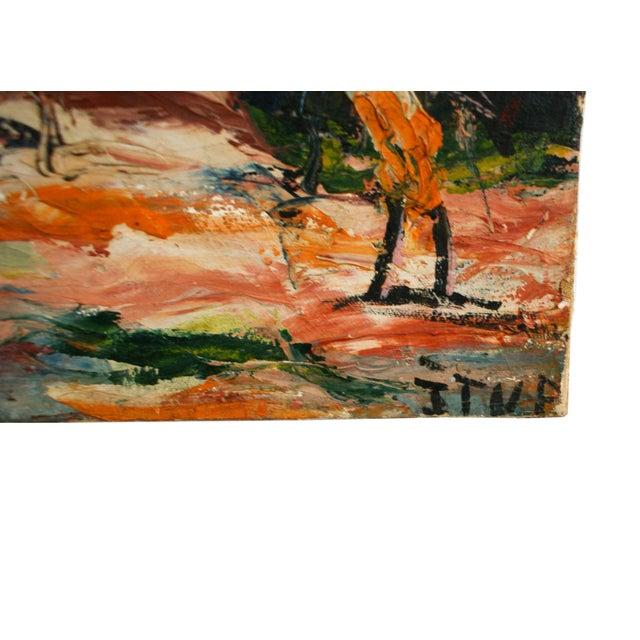 Original Tropical Landscape Painting - Image 2 of 3