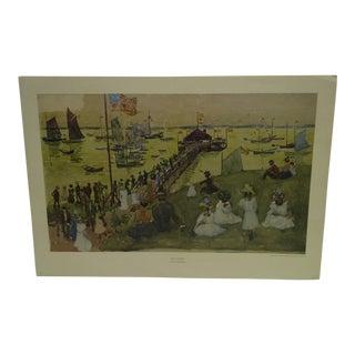 "Maurice Prendergast ""Boat Landing"" Print"