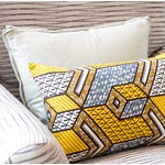 Image of N'djamena Rectangular Pillows - Pair