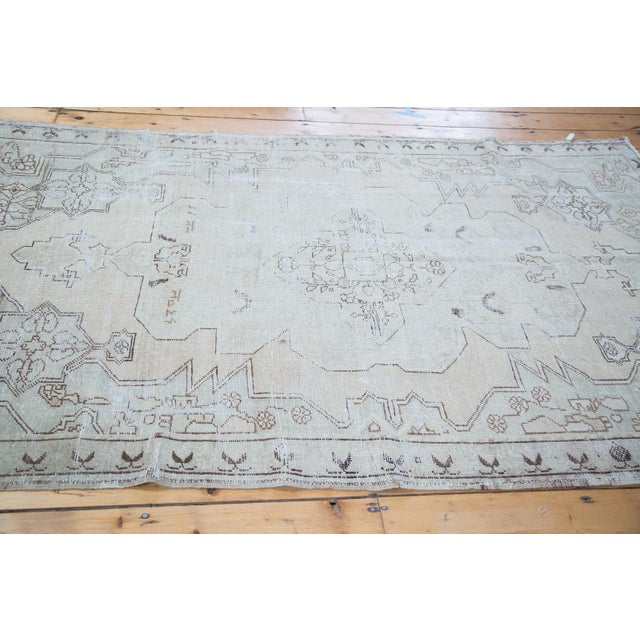 "Distressed Oushak Rug - 4'8"" X 7'5"" - Image 10 of 10"