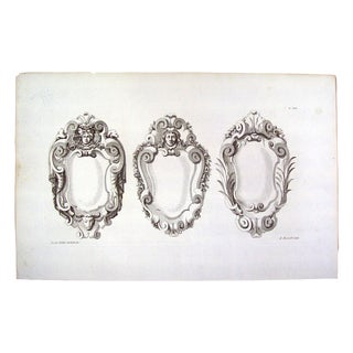 Architectural Ornament Engraving by J. Gibbs, 1728