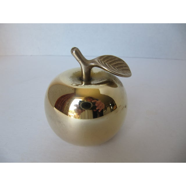 Vintage Brass Apple Bell - Image 6 of 6