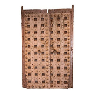 Antique Indian 2-Piece Door