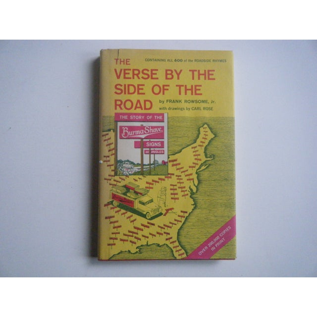 Image of Vintage Burma Shave Advertising Poetry Book