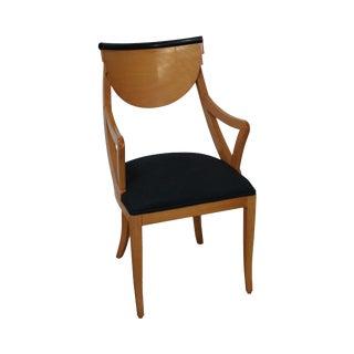 Italian Biedermeier Style Arm Chair