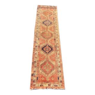 Vintage Persian Karajeh Runner - 2′11″ × 12′