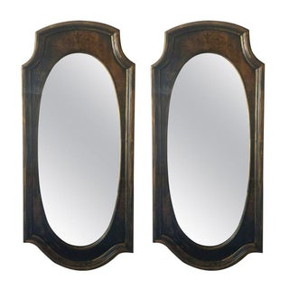 Mid-Century Wall Mirrors - A Pair