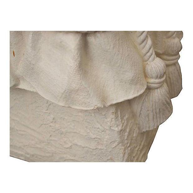 John Dickinson-Attributed Plaster Stool - Image 8 of 10