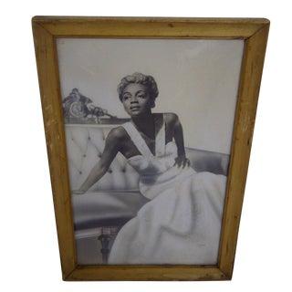 "Vintage Photo of ""Joyce Bryant,"" Circa 1940"
