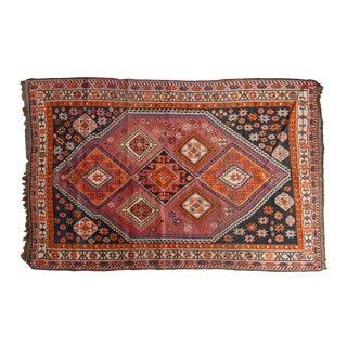 """Vintage South West Persian Carpet - 5'2"""" X 7'11"""""""