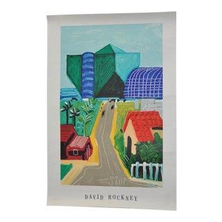 "David Hockney ""West Hollywood"" Marketing Poster c.1989"
