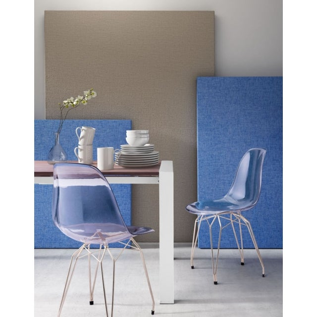 Image of Gold & Acrylic Eames-Style Gilda Chair