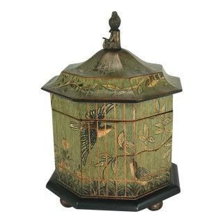 Maitland-Smith Octagonal Bird Cage Box