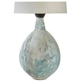 Custom Handmade Cement Table Lamp