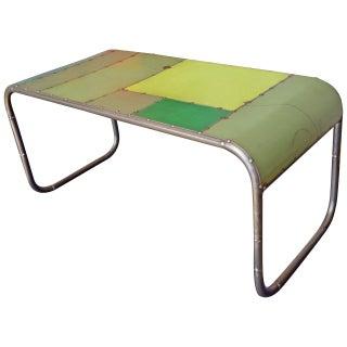 Reclaimed Steel Coffee Table