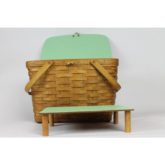 Vintage Longeberger Picnic Basket - Image 10 of 10