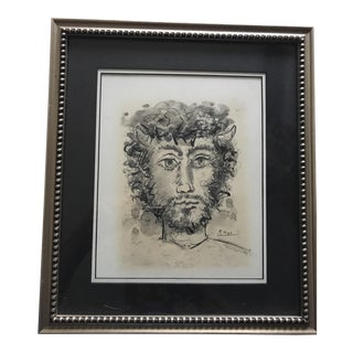 Picasso Mixed Media Drawing Print