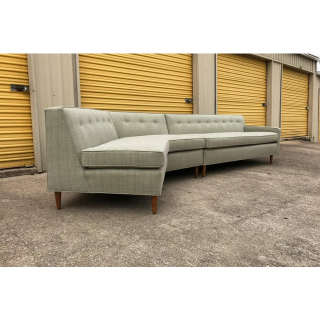 Marden Mid-Century Sectional Sofa - 2 Pieces - Image 4 of 11
