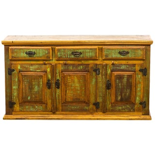 Antique Reclaimed Wood Sideboard