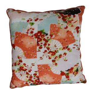 Vintage Kimono Pillow