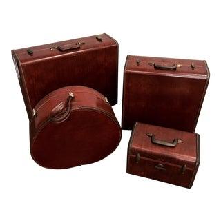 Vintage Samsonite Luggage Set - Set of 4