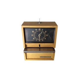 Vintage Time Punch Clock