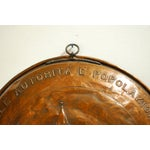 Image of Large Vintage Swiss Copper Bowl Repousse