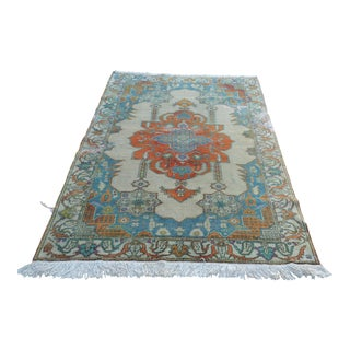 "Turkish Hand Knotted Antique Rug - 53"" x 84"""
