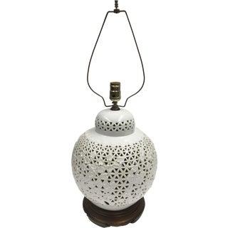 Blanc de Chine Jar Lamp