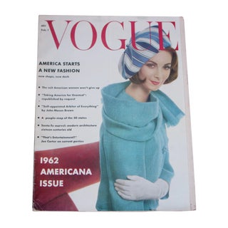1962 Americana Vogue Issue