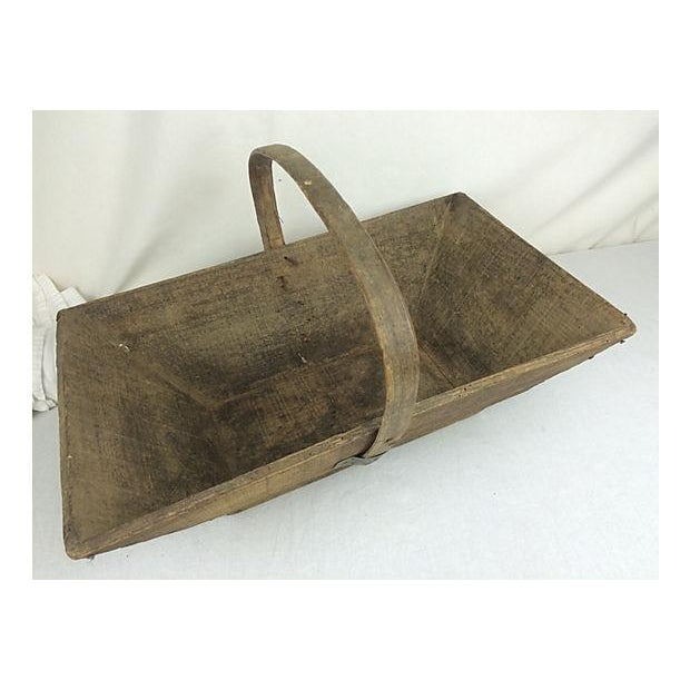 French Garden Trug Basket - Image 3 of 3