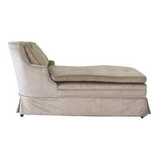 Vintage Upholstered Chaise Longue
