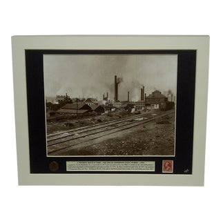 "1891 ""A Journey Back in Time - the Edgar Thompson Steel Works"" Multi-Media Collage"
