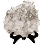 Image of Large Quartz Crystal Cluster with Stand