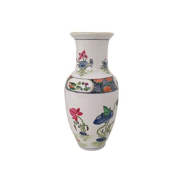 Chinoiserie Porcelain Vase - Image 2 of 5