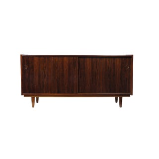 Rosewood Credenza with Sliding Doors