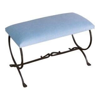 Spanish Wrought Iron Bench
