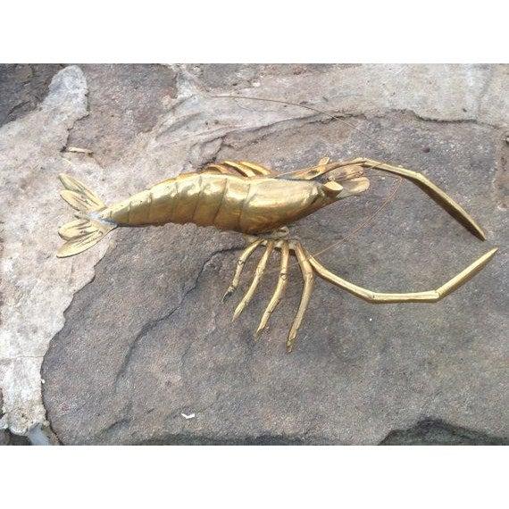 Mid-Century Brass Lobster   Chairish
