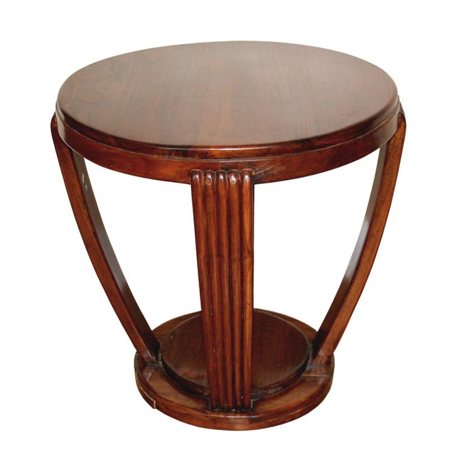 Image of French Art Deco Style Side Table
