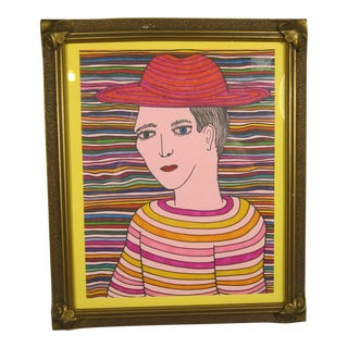 Rainbow Boy Portrait