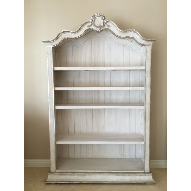 Eloquence Rousseau Silver Bookcase