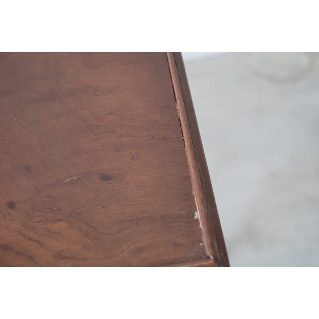 Image of Antique Drinks Table with Tray
