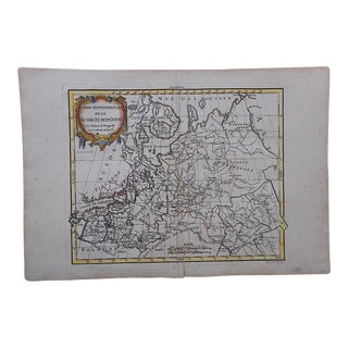 18th C. Antique Map-Russia & Europe