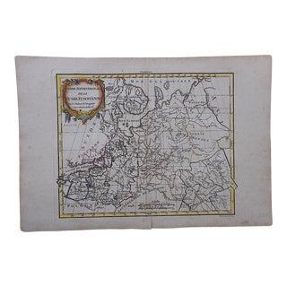 18th C. Antique Map-Russia & Europe