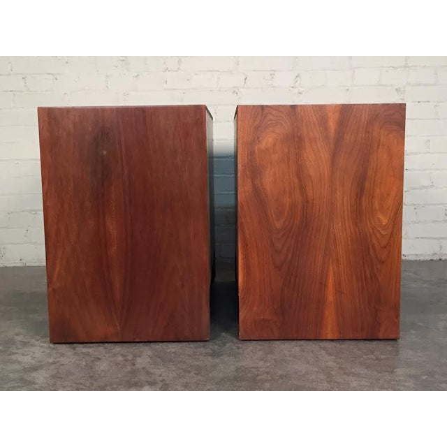 Milo Baughman for Dillingham Mid-Century Modern Nightstands - a Pair - Image 5 of 8