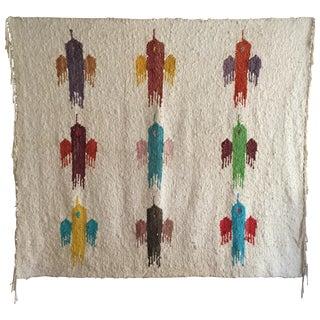 Vintage Mid-Century Bird Textile