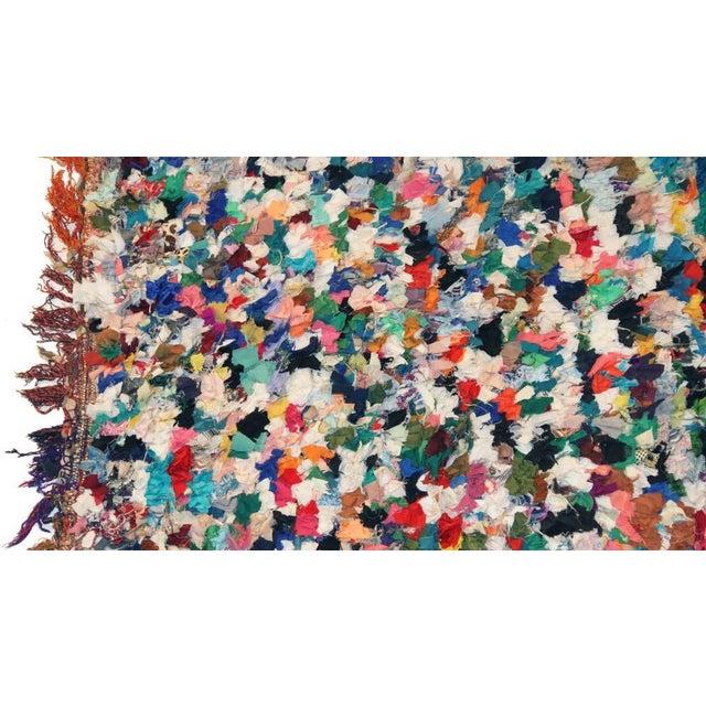 Vintage Boucherouite Carpet - 4′7″ × 6′5″ - Image 2 of 3